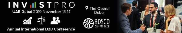 Join InvestPro international business conference in UAE - Dubai 2019 Conference and Workshop, which is held on November 13-14 at the Oberoi Dubai hotel.