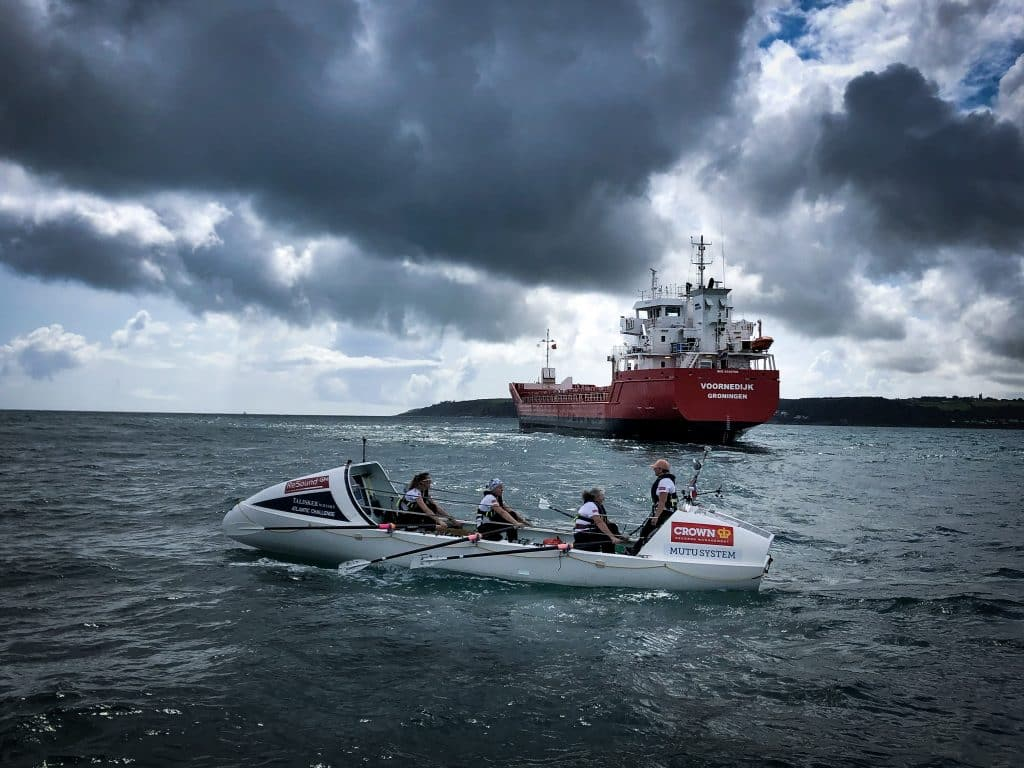 Novice rower swaps big data for big waves to row the Atlantic – cheered on by Coldplay