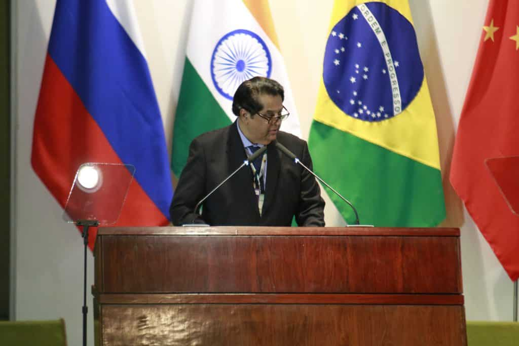 NDB President reports to BRICS leaders at 11th Summit in Brasilia, Brazil