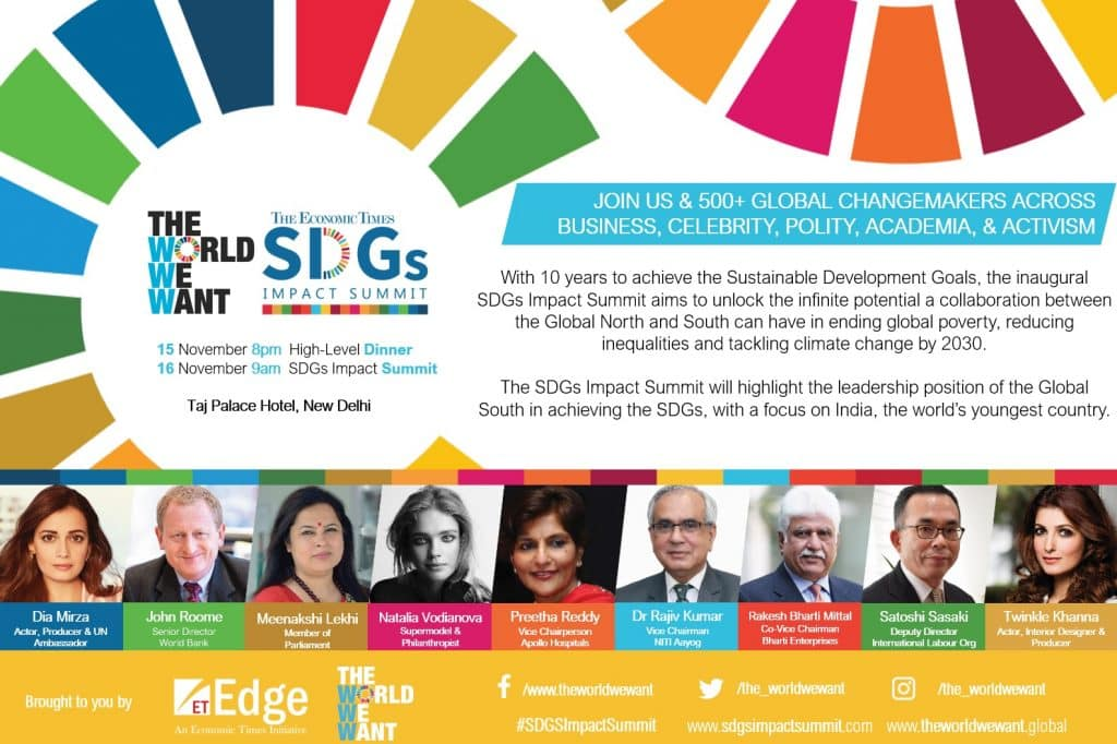 Inaugural SDGs Impact Summit to Urge Cross-Sector Collaboration Between the Global North and South to Accelerate SDGs Action