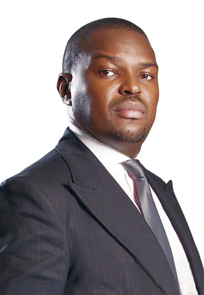 Founding chairman and group CEO of investment firm DLM Capital Group , Sonnie Ayere