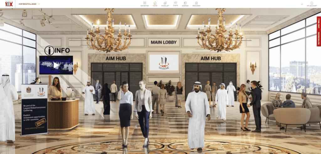 AIM Digital: Virtual Lobby