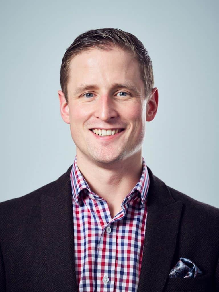 Jonny Combe, UK CEO of PayByPhone
